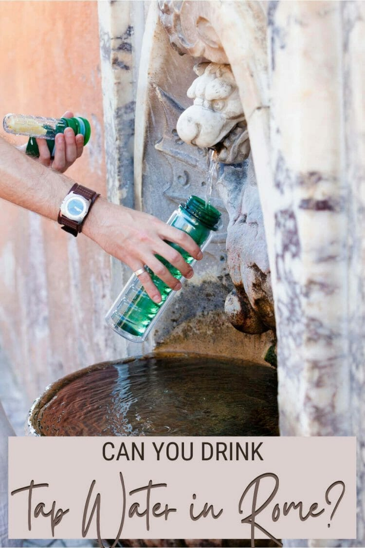 Read everything you need to know about tap water in Rome - via @strictlyrome