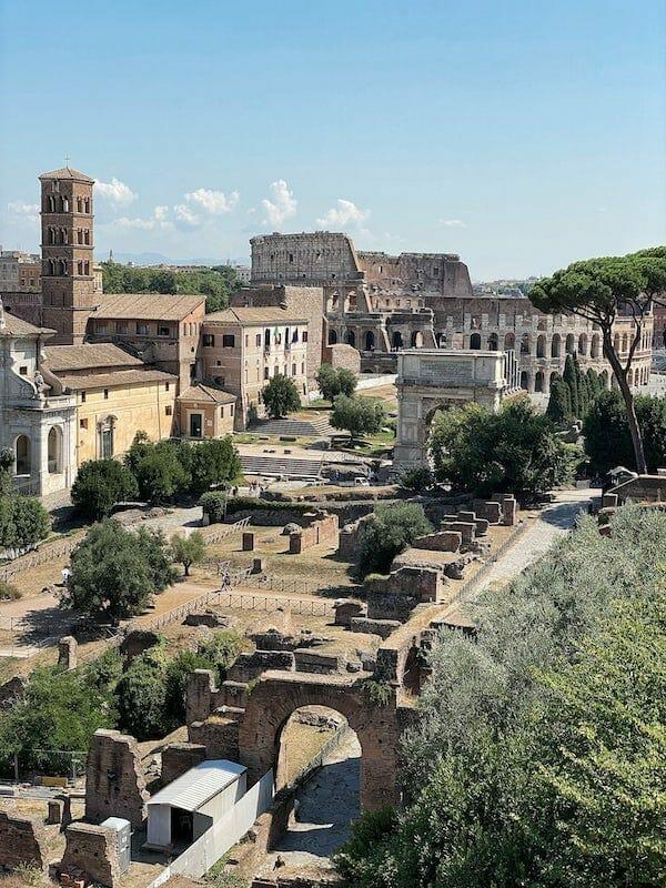 Forum and Colosseum