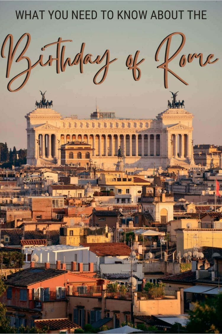 Discover what you need to know about the birthday of Rome - via @strictlyrome