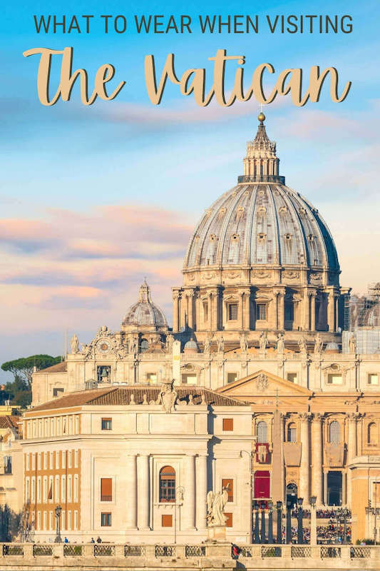 Check out what you must know about the Vatican dress code - via @strictlyrome