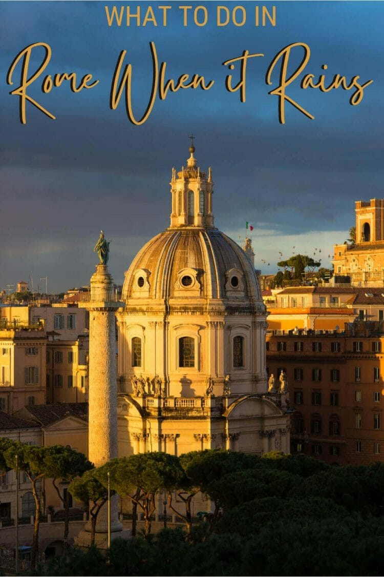 Discover the best things to do in Rome when it rains - via @strictlyrome